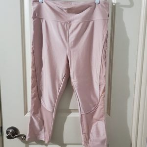 F21 Baby Pink Yoga Leggings Plus 1X
